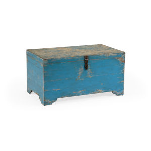 Blue 36-Inch Nantucket Trunk