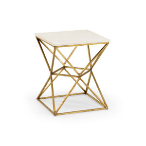 Gold 18-Inch Geodesic Table