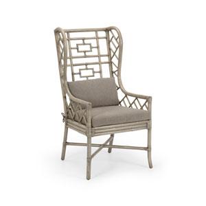 Gray 23-Inch Gwyneth Wing Chair