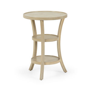 Beige 20-Inch Benoit Side Table