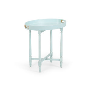 Blue 25-Inch Borneo Tray Table