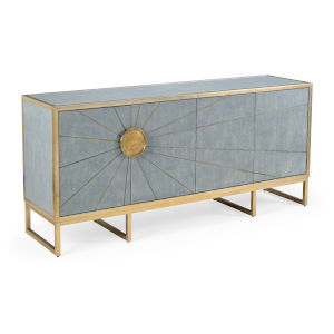 Blue 72-Inch Rays Edge Cabinet