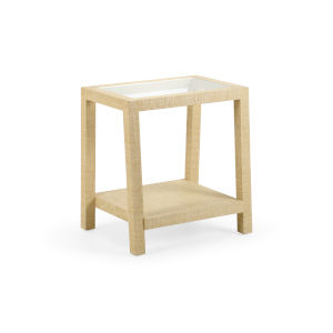 Beige 24-Inch Gaston Side Table