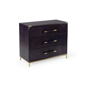 Black 39-Inch Bruce Chest