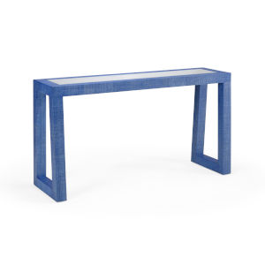 Blue 60-Inch Gaston Console Table