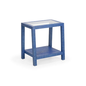 Blue 24-Inch Gaston Side Table