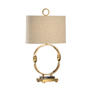 Gold One-Light 7-Inch Otto Lamp