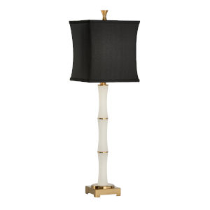 Black and White One-Light 8-Inch Sloane Lamp