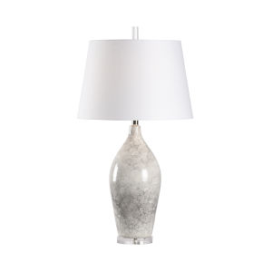 White One-Light 6-Inch Boccale Lamp