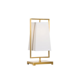 Gold One-Light 10-Inch Belle Meade Lamp