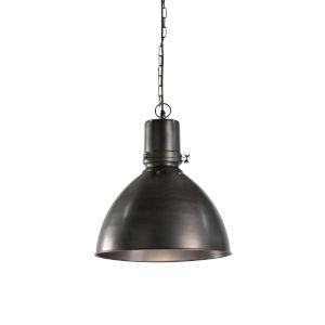 Black One-Light 15-Inch Studio Pendant