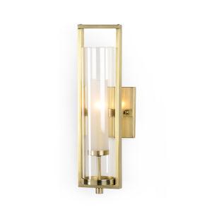 Brass One-Light 5-Inch Lancaster Sconce