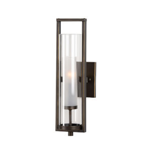 Bronze One-Light 5-Inch Lancaster Sconce