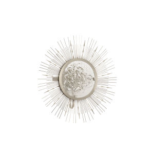 Nickel One-Light 16-Inch Shine Sconce