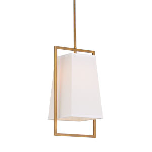 Gold One-Light 10-Inch Belle Meade Pendant