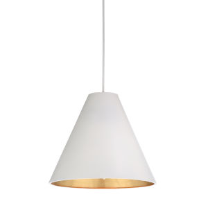 White Four-Light 24-Inch Apex Pendant