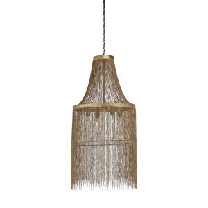 Bronze Four-Light 21-Inch Venetico Chandelier
