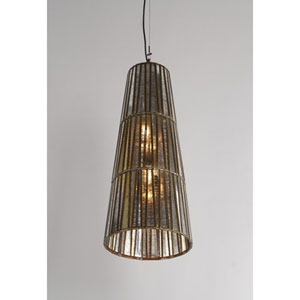 Bronze One-Light 12-Inch Synder Pendant