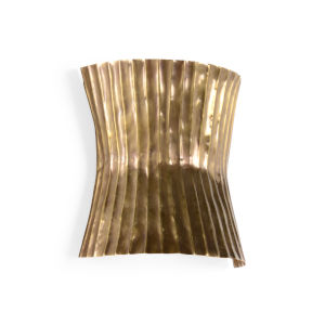 Tabuk Antique Gold Two-Light Wall Sconce