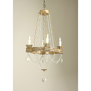 Crystal Four-Light Meredith Chandelier