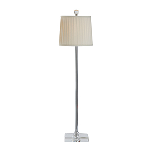 Matthew Frederick Nickel One-Light Table Lamp