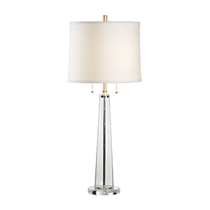 Lisa Kahn Crystal One-Light Table Lamp