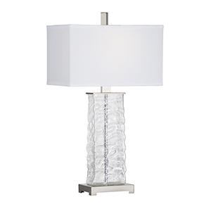 Nickel One-Light Abbot Lamp