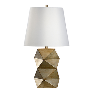 Bradshaw Orrell Silver One-Light Table Lamp
