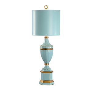 Seafoam One-Light Frankfurt Lamp