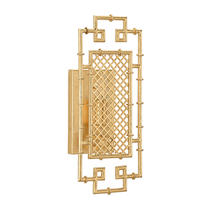 Bradshaw Orrell Gold One-Light Benton Sconce