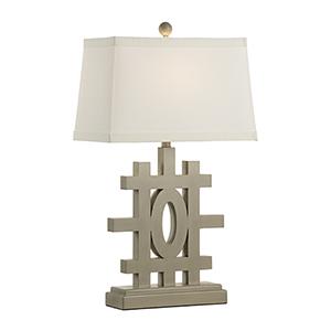 Jamie Merida Gray One-Light Orangerie Lamp