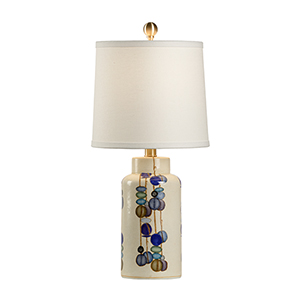 Multi-colored One-Light Small Kobe Vase Lamp