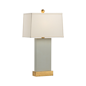 Pam Cain Gray One-Light Satterfield Lamp