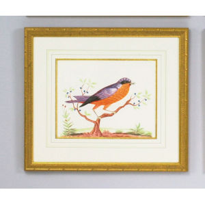 Orange Bird Wall Art