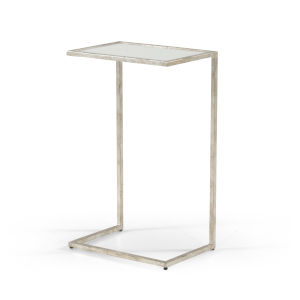 Matteson Silver Side Table