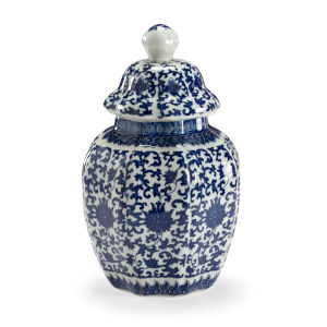Dynasty Blue and White Vase