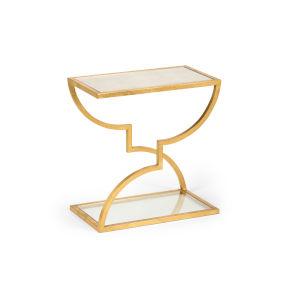 Austin Antique Gold Side Table