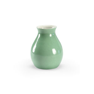 Apple Green Six-Inch Vase