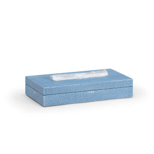 Durham Light Blue 14-Inch Decorative Box