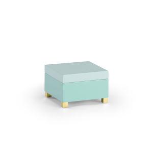 Mint Green And Seafoam Decorative Box