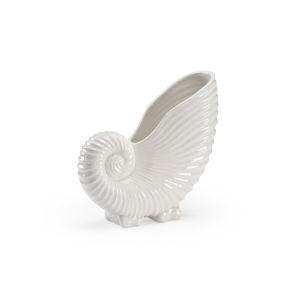 White 16-Inch Conch