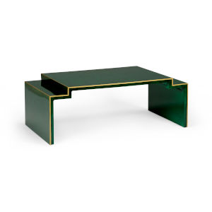 Chatsworth Malachite with Gold Coffee Table