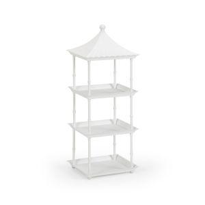 White Pagoda Shelf