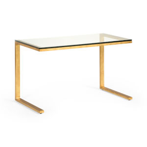 Bridge Antique Gold Coffee Table