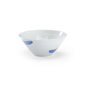 Essex White and Blue Decorative Bowl