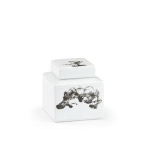Black and White Six-Inch Jizhou Vase
