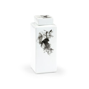 Black and White Five-Inch Jizhou Vase