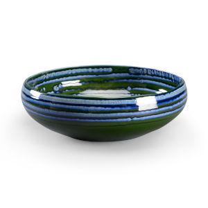 Blue 16-Inch Decorative Bowl