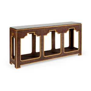 Yangon Brown Console Table