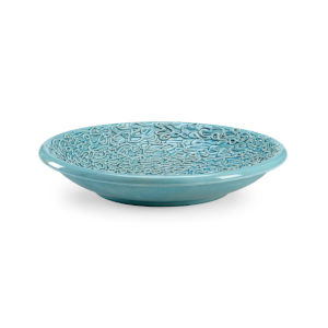 Normandy Turquoise Decorative Bowl